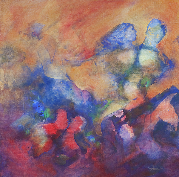 The Dancers Print by Kate Maconachie