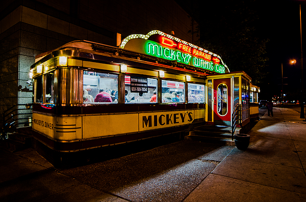 The diner by lowlight images for Diner artwork