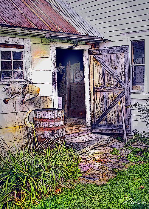 The Door Is Always Open Print by Nancy Griswold