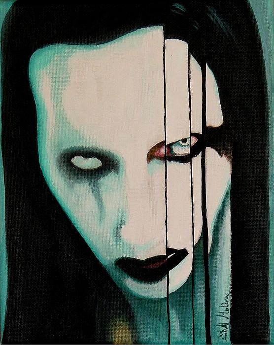 The Enigma Marilyn Print by Al  Molina