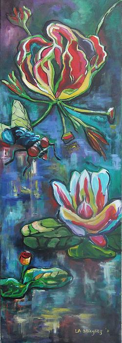 The Fly Print by Lee Anne Stieglitz
