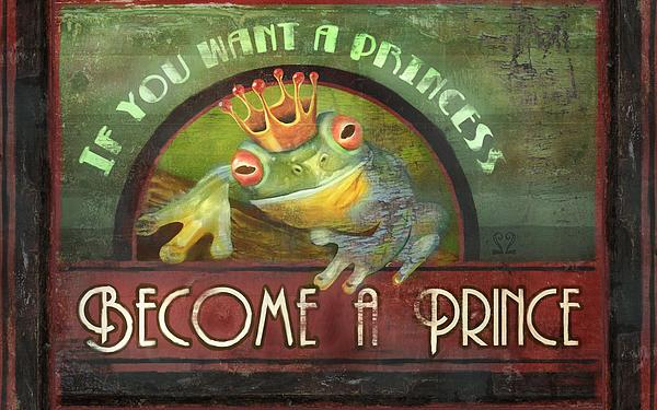 The Frog Prince Print by Joel Payne