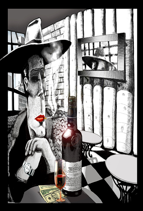 The Gangster Print by Jose Roldan Rendon