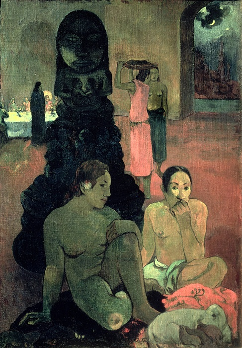 The Great Buddha Print by Paul Gauguin
