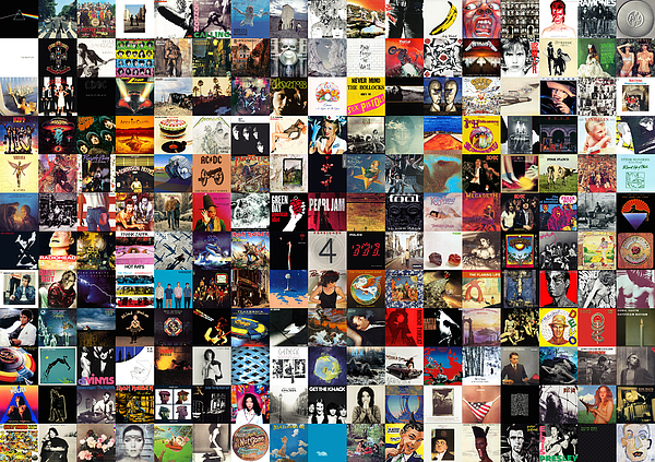 The Greatest Album Covers Of All Time Print by Taylan Soyturk: fineartamerica.com/featured/the-greatest-album-covers-of-all-time...