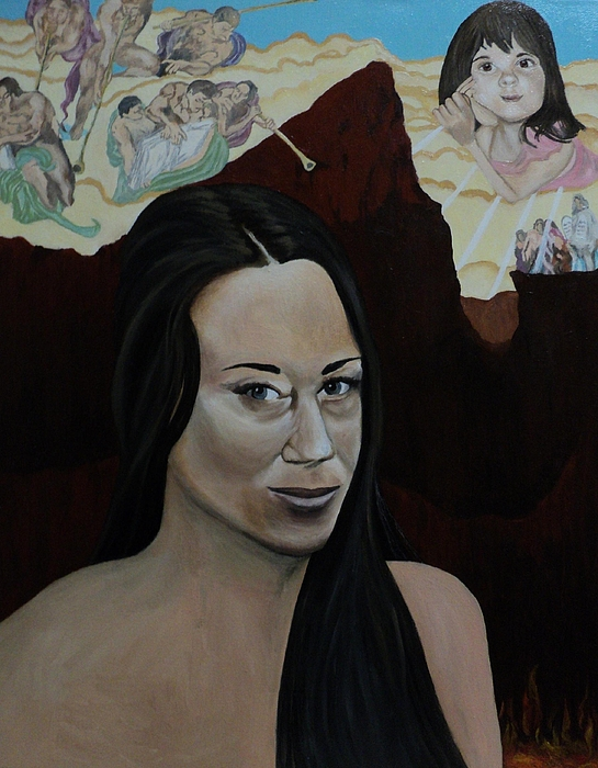 The Judgment Of Casey Anthony The Sacrifice Of Caylee Anthony Print by Angelo Thomas