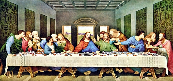 Leonardo Da Vinci's The Last Supper Restored by Leonardo ... Da Vinci Last Supper Restored