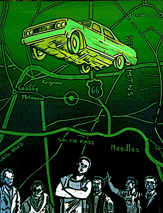 The Life Of A Repo Man Is Always Intense Print by Jeff DOttavio