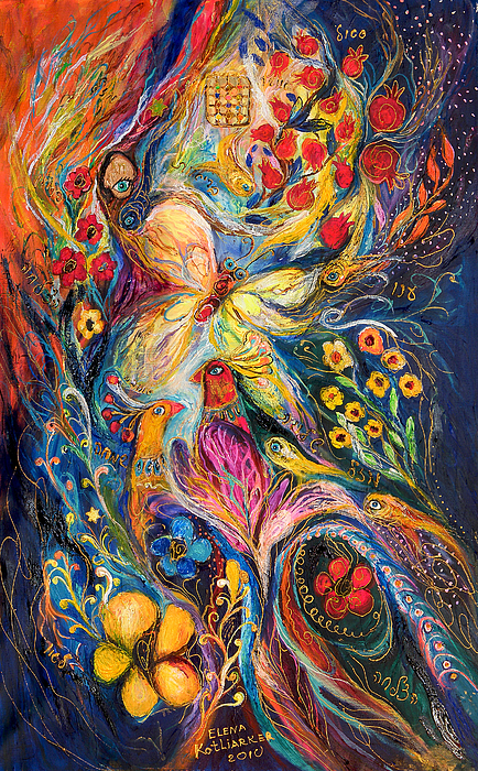The Love Story Print by Elena Kotliarker