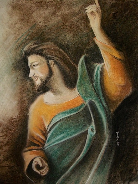 The Messiah Print by Scott Easom