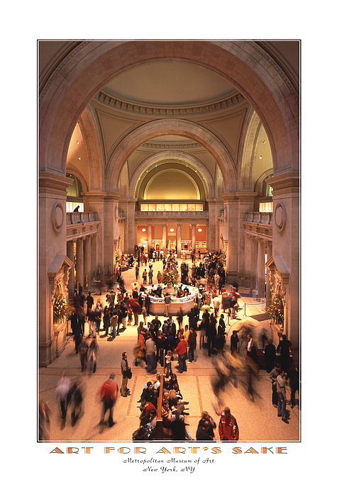 The Metropolitan Museum Of Art Print by Mike McGlothlen