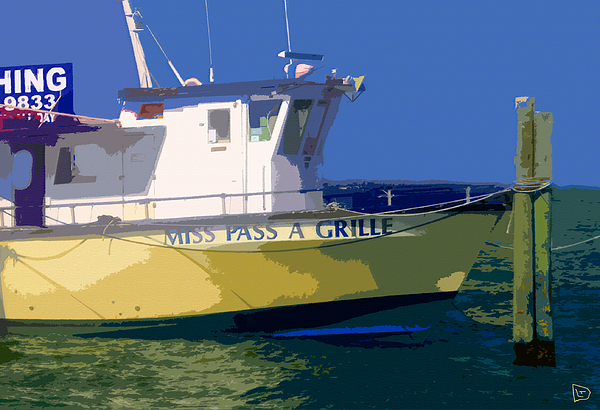 The Miss Pass A Grille Print by David Lee Thompson