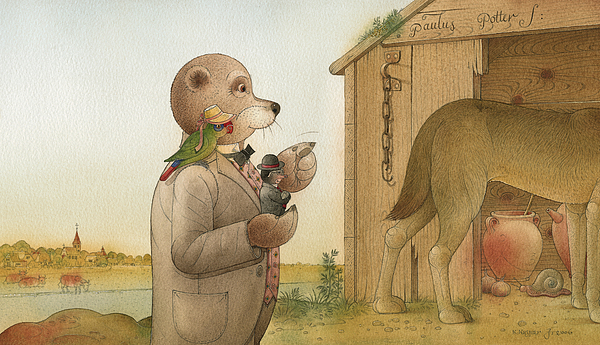 The Missing Picture29 Print by Kestutis Kasparavicius