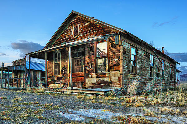 The Old Wendel General Store Print by James Eddy