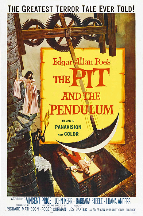 The Pit And The Pendulum, 1961 Print by Everett