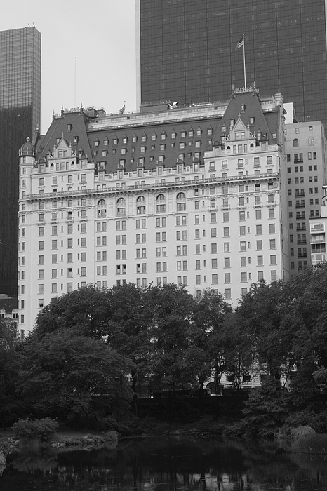 The Plaza Hotel Print by Christopher Kirby