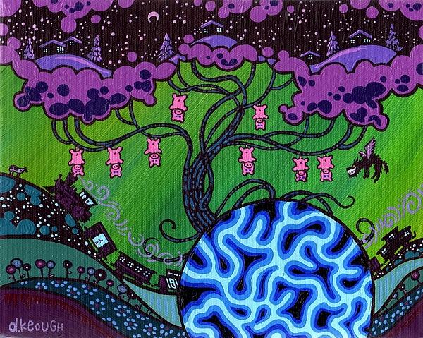 The Pork Tree Print by Dan Keough
