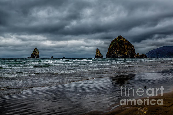 The Power Of The Sea Print by Jon Burch Photography