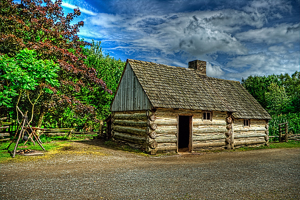The Prairie House Print by Kim Shatwell-Irishphotographer