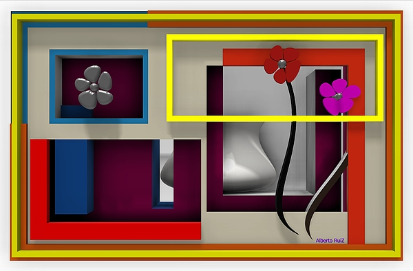 Alberto  RuiZ - The quiet room