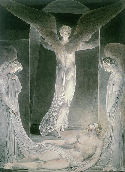The Resurrection Print by William Blake