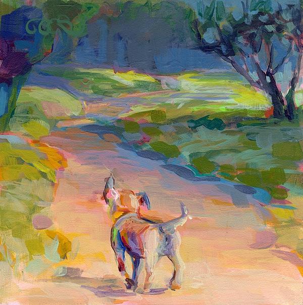 The Road Ahead Print by Kimberly Santini