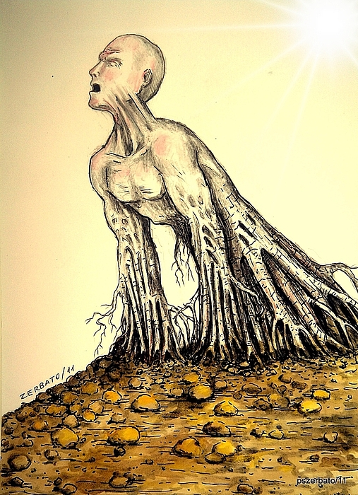 The Roots Are Deep Print by Paulo Zerbato