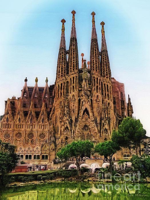 Sue Melvin - The Sagrada Familia