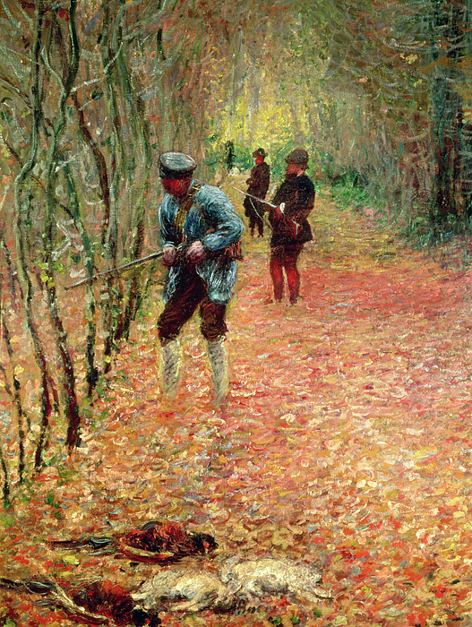 The Shoot Print by Claude Monet