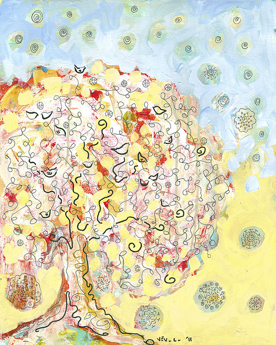 The Talking Tree Print by Jennifer Lommers