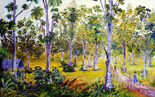 Jason Sentuf - The Teak Garden