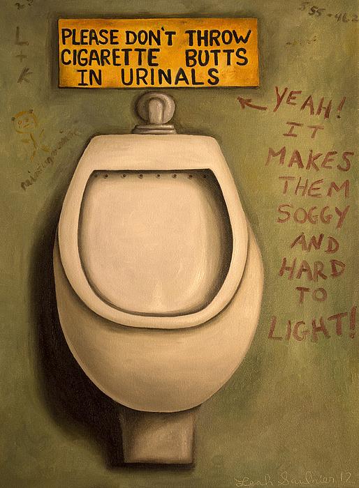 Leah Saulnier The Painting Maniac - The Urinal