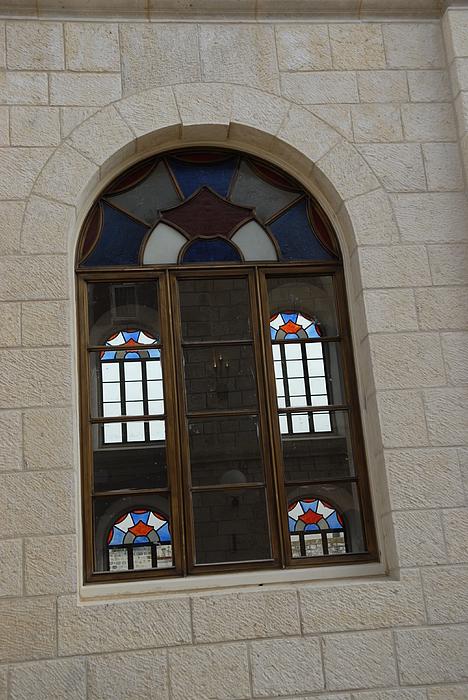 The Windows Of Jerusalem-1 Print by Alex Kantor