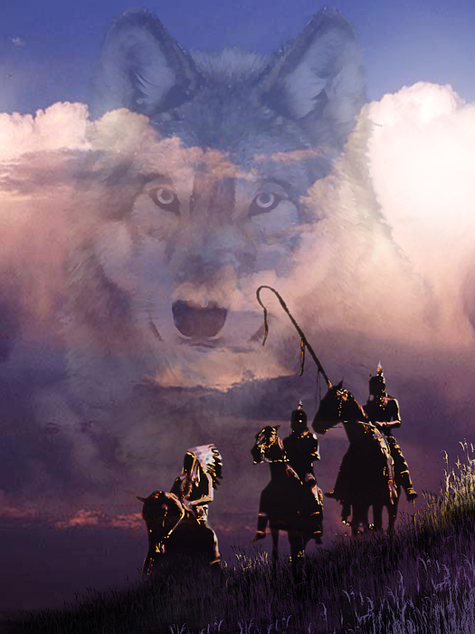 The Wolf Print by Paul Sachtleben