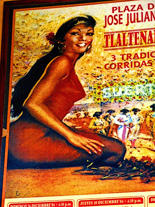 The Woman From Plaza Jose Print by Olden Mexico