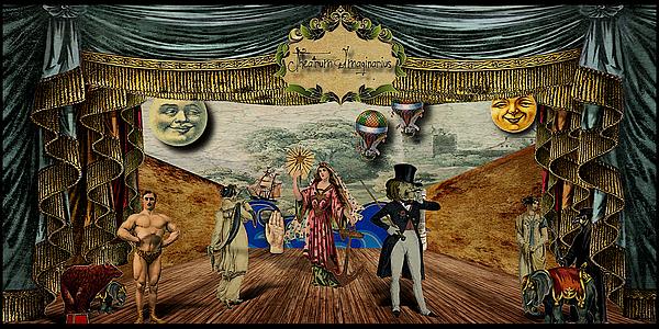 Theatrum Imaginarius -theatre Of The Imaginary Print by Cinema Photography