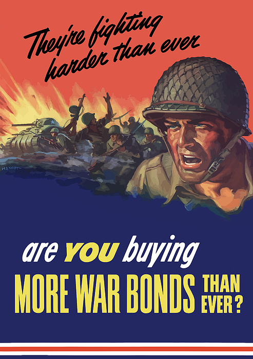 They're Fighting Harder Than Ever Print by War Is Hell Store