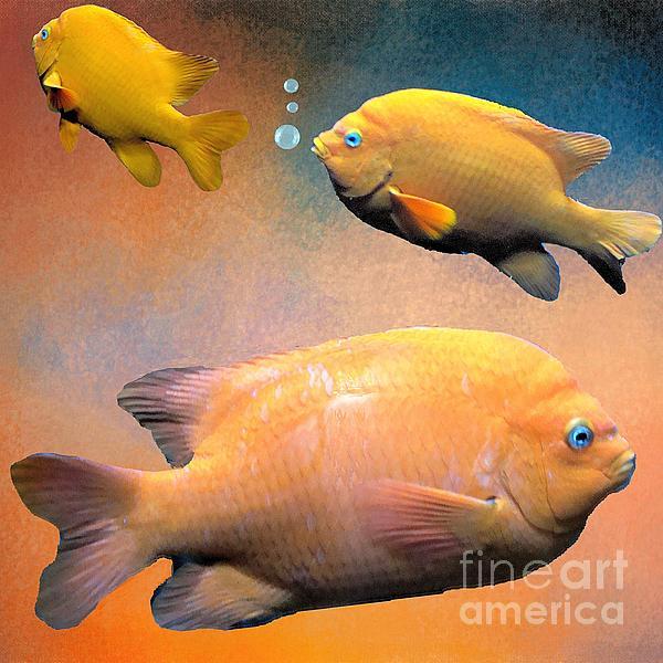 Janette Boyd - Three Tropical Goldfish
