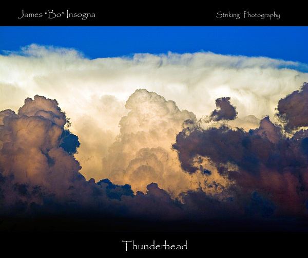 Thunderhead Cloud Color Poster Print Print by James BO  Insogna