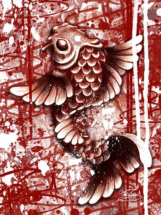 Tiffy Koi Print by Michael Figueroa