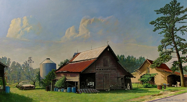 Tired And Retired Print by Doug Strickland