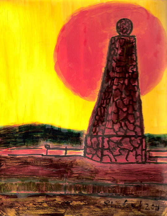 Ensign Peak Painting For Sale