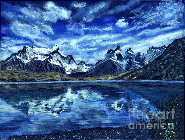Timothy Hacker - Torres del Paine Painting