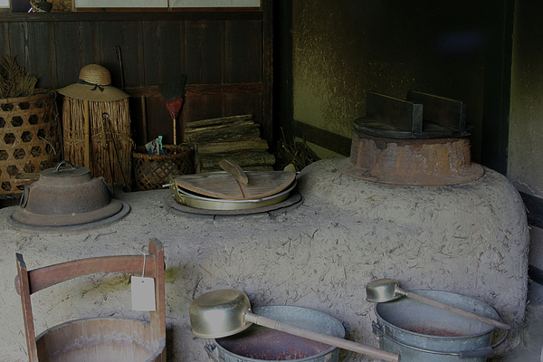 Traditional japanese kitchen by masami iida for Traditional japanese kitchen