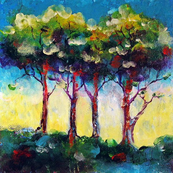 Trees 1 Print by Faith Frykman