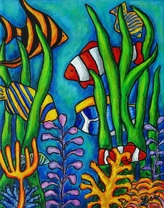 Tropical Gems Print by Lisa  Lorenz