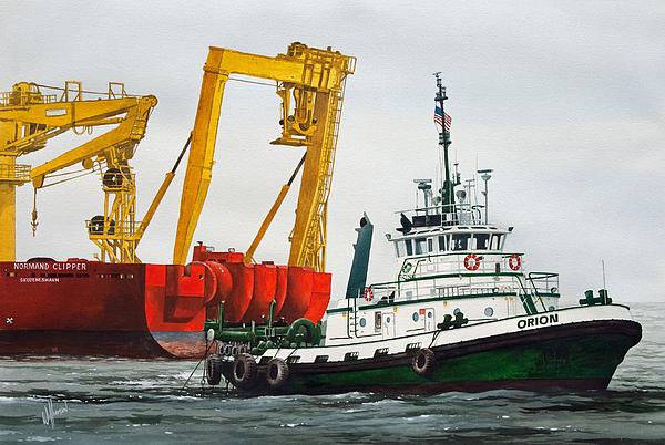 James Williamson - Tugboat ORION FOSS
