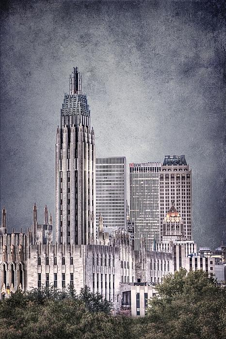 Tulsa Art Deco II Print by Tamyra Ayles