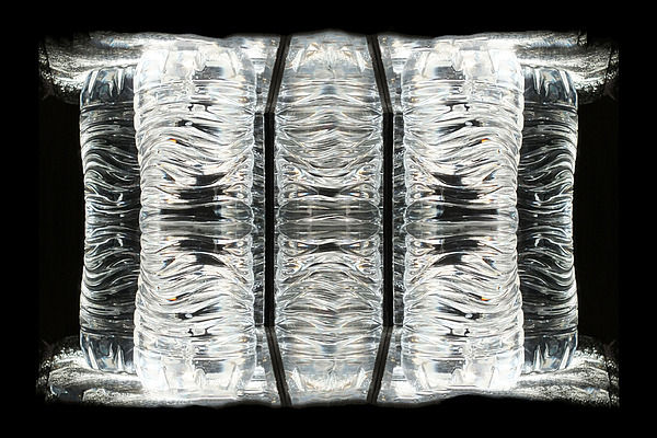 Michael DeBlanc - TV and Water Bottle No.4