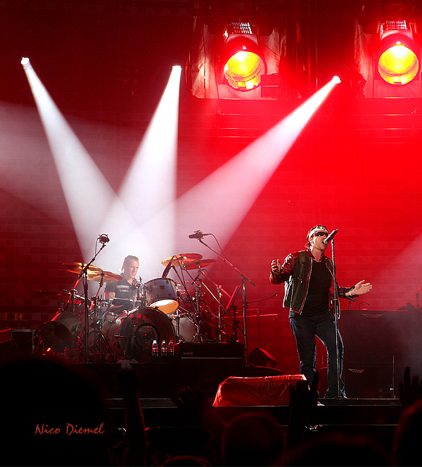 Nick Diemel - U2 Amsterdam concert